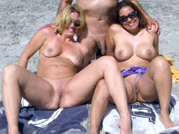 Hidden cam, stunning nudists posing..