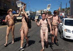 Gay parade in the United States. What..