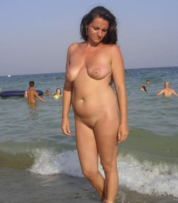 Nude Moms On The Beach