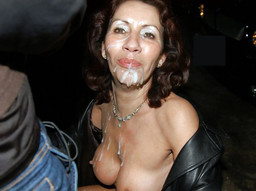 Busty mature whore likes when sticky..