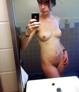 For lovers of naked selfie. Gorgeous..