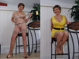 Dressed before and nude after photos..