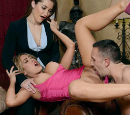 Lustful babes Capri Cavanni and Dani..