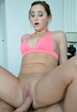 Big-eyed pornstar Hope Howell gets..