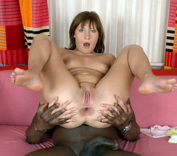 Pretty schoolgirl gets her first black..
