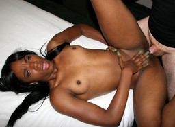 Cheerful black whore Tay Dash gets her..