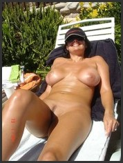 Fatty nude black only
