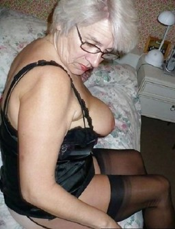 Hot grannies in sexy lingeries,..