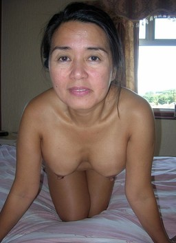 Titted mature prostitute from Japan..