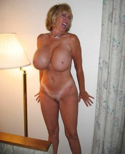 Busty mature undressing in public,..