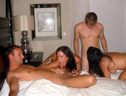 European swingers share their wives..